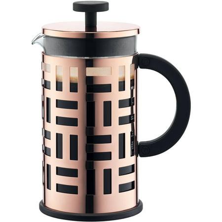 Bodum EILEEN French Press Coffee Maker, 8 Cup, 1 L, 34 oz, Copper ()