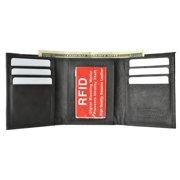 New Mens's RFID blocking genuine leather wallet RFID55CFBK
