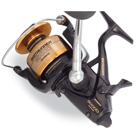 Shimano Baitrunner D 4 8:1 Right/Left Hand Spinning Fishing Reel - BTR8000D