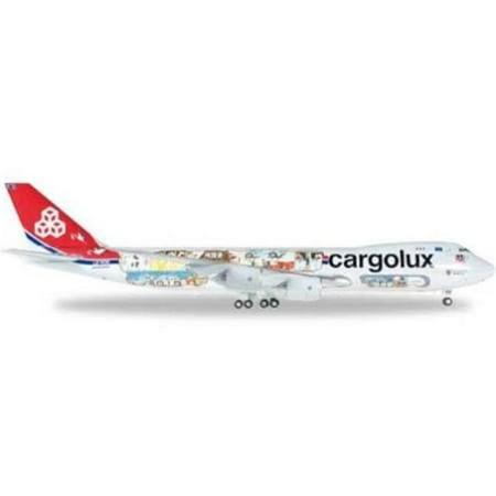 Cargolux 747 - 8F 1 by 500 45th Anniversary