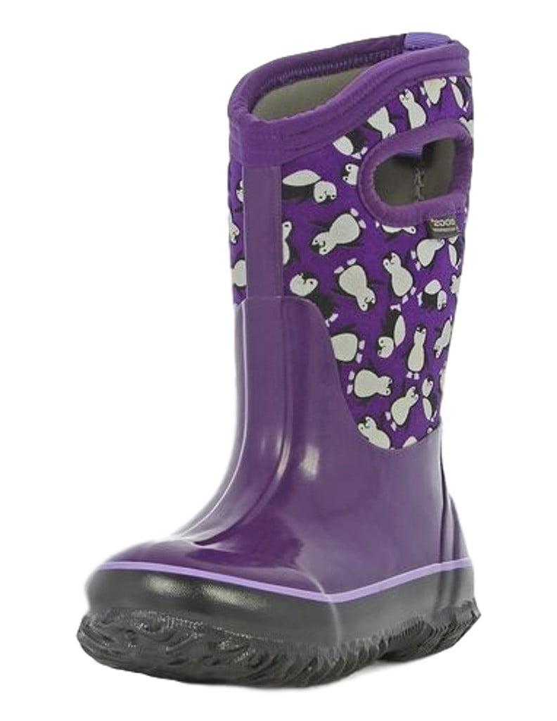 Bogs Boots Girls Kids Classic Penguin Pull On Waterproof 71995 by Bogs