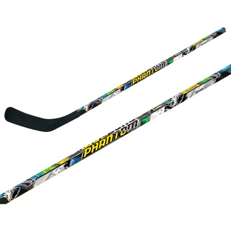 Franklin Sports NHL 1090 Phantom Street Hockey Stick, Left Shot Dolomite Hockey Stick