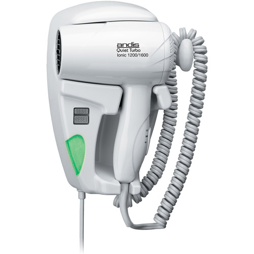 Andis Quiet Hang-Up 1600 Wall-Mounted Hair Dryer