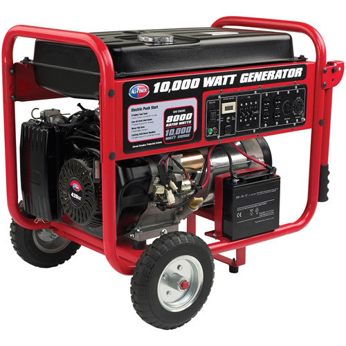 Allpower 10,000W Portable Generator with Electric Start, APGG10000