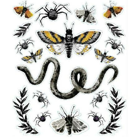 Darice Martha Stewart Crafts Halloween Embellishment Stickers Insects