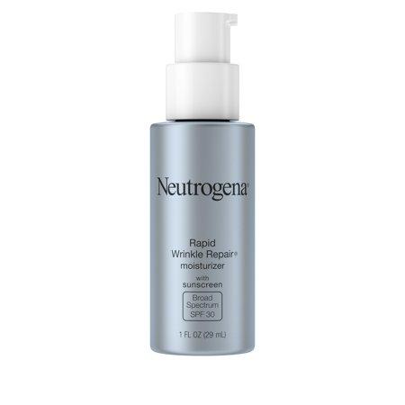 Neutrogena Rapid Wrinkle Repair Lotion Face Moisturizer With Hyaluronic Acid   1Fl Oz  Spf 30