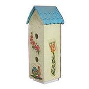 Dollhouse Birdhouse 2 Story Ass'T Colors/Designs