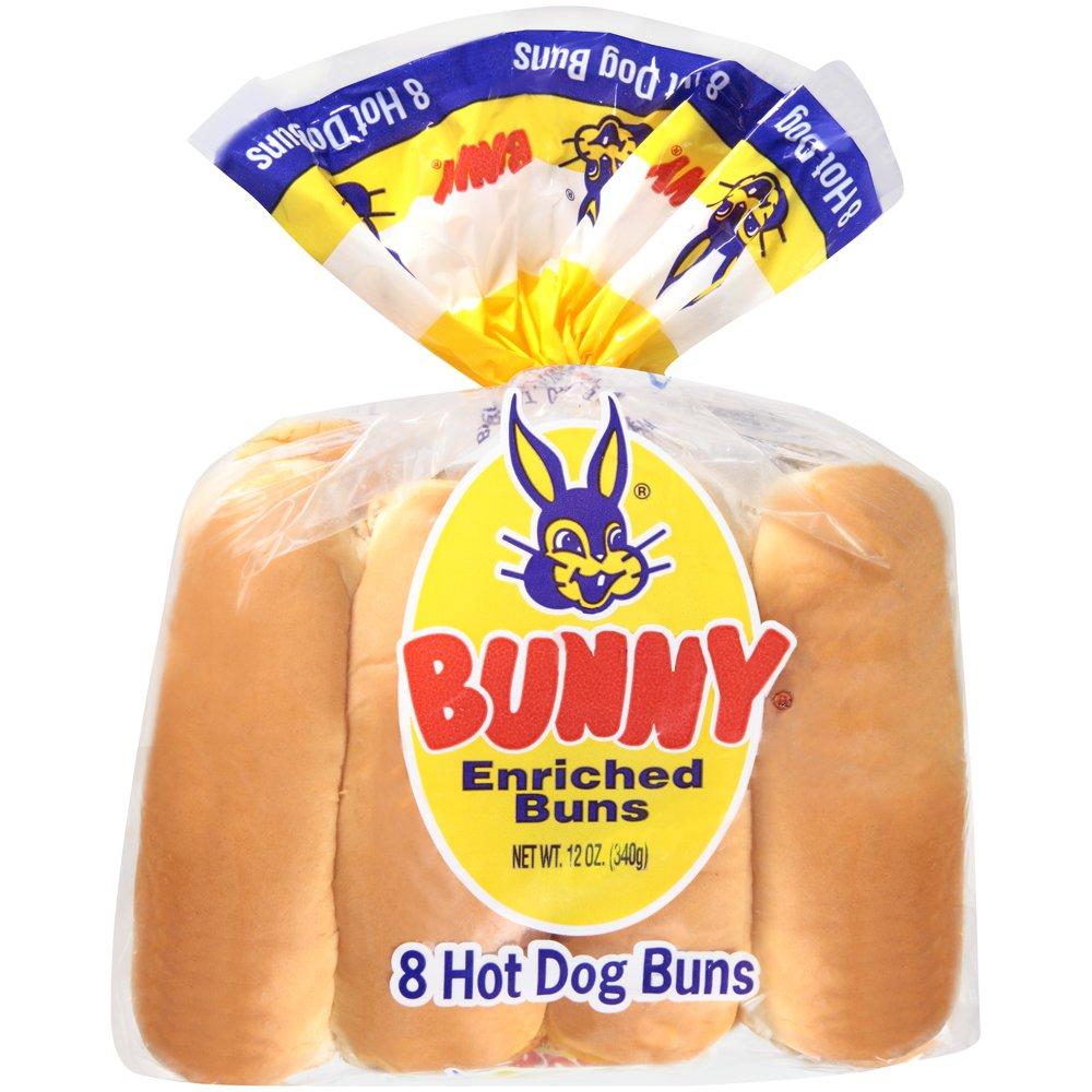 Sunbeam® Hot Dog Buns 8 ct Bag - Walmart.com - Walmart.com