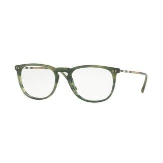 Authentic Burberry Eyeglasses BE2258QF 3659 Striped Green Frames 55MM (Burberry Frame)