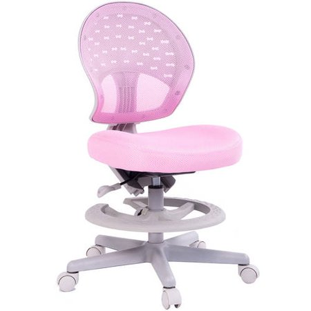 Wondrous Kids Desk Chair Height Adjustable With Footrest And Back Creativecarmelina Interior Chair Design Creativecarmelinacom