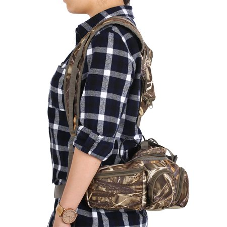 Multifunctional Climbing Camouflage Bag for Outdoor Hiking Fishing Camping Sports Fanny Pack - image 3 of 7