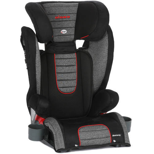 Diono Monterey High-Back Booster Car Seat with Adjustable Headrest