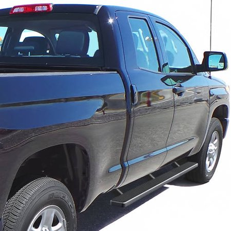 "2007-2018 Toyota Tundra Double Cab 4"" Matte Black iStep Side Step"
