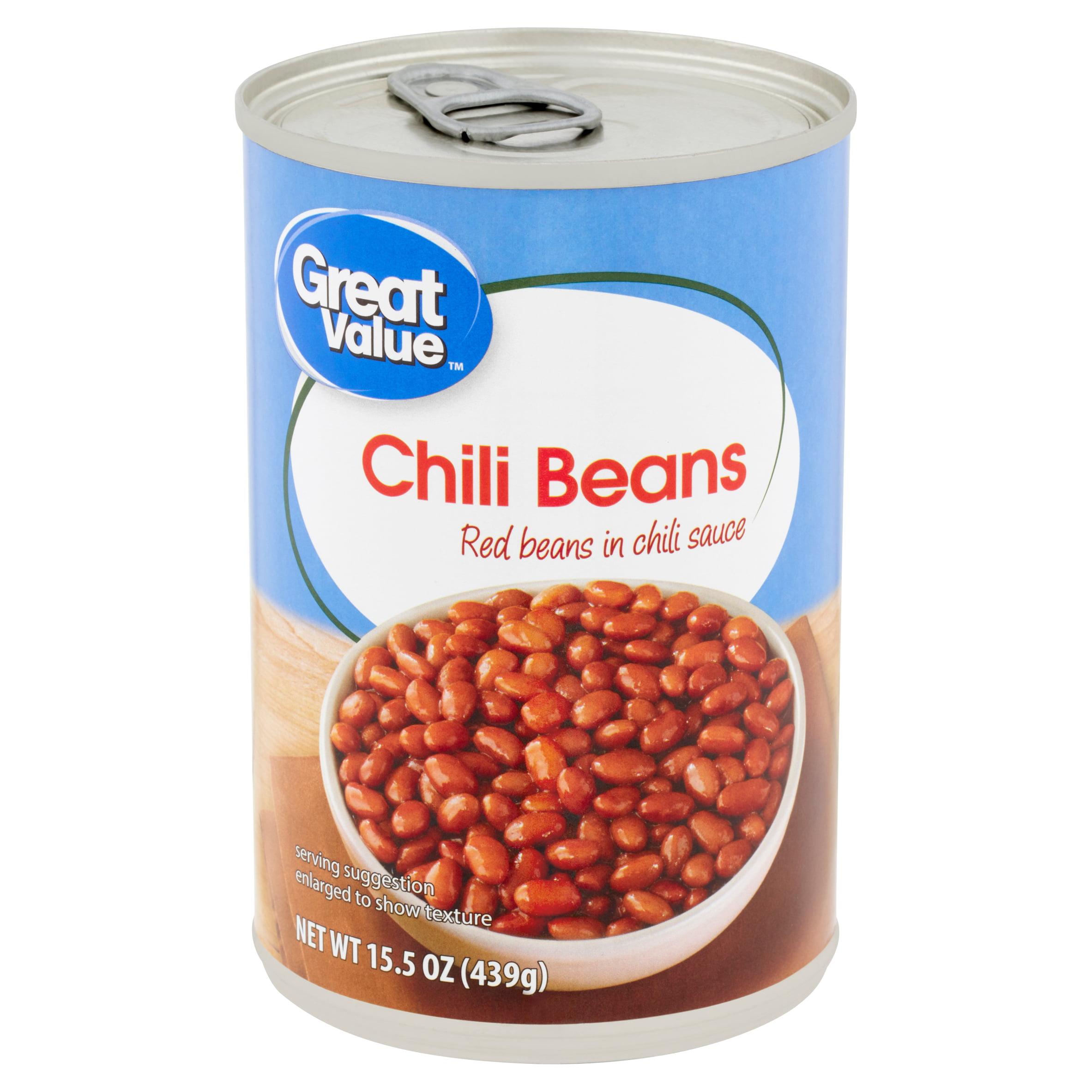 Great Value Chili Beans 15 5 Oz Walmart Com Walmart Com