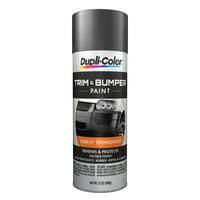 Dupli-Color Paint TB102 Dupli-Color Trim And Bumper Coating; Dark Charcoal; 11 oz. Aerosol;