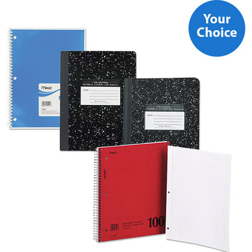 Assorted Notebook Bundle- Your Choice