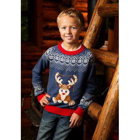 Boy's Reindeer LED Light Up - Reindeer Led Lights
