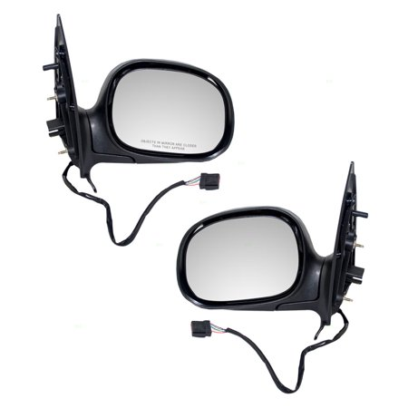- Driver and Passenger Power Side View Mirrors Heated Replacement for Ford Expedition F85Z17683HAB F85Z17682HAC