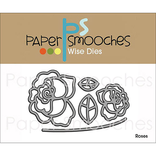 Paper Smooches Die, Roses