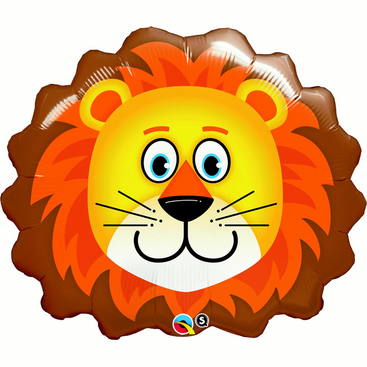 Lion Balloon (each) - Party Supplies