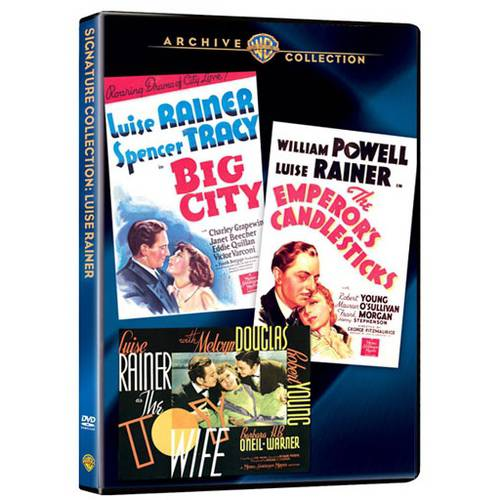 Luise Rainer Collection: Big City / The Emperor's Candlesticks / The Toy Wife (Full Frame)