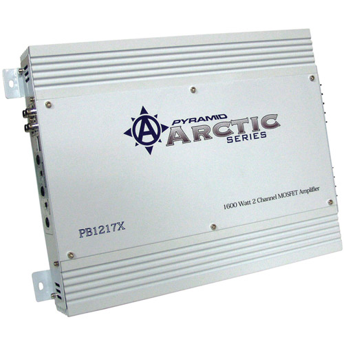 Pyramid PB1217X Arctic Series 2-Channel MOSFET Amplifier