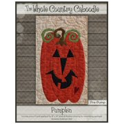Kit~Pumpkin~Pre-Cut Applique Kit with Fabric by Whole Country Caboodle