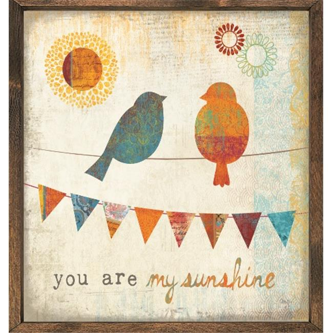 Forest Creations AP66 Art Print - You Are My Sunshine
