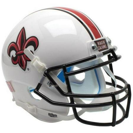 - Schutt Replica Louisiana Ragin Cajuns White XP Football Helmet