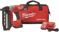 Milwaukee M18 Fuel 16 Gauge Straight Finish Nailer by Milwaukee Electric Tool