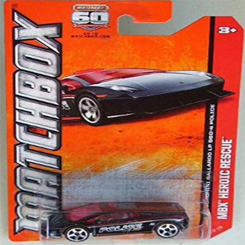 2013 Matchbox MBX Heroic Rescue Lamborghini Gallardo LP 560-4 Police by
