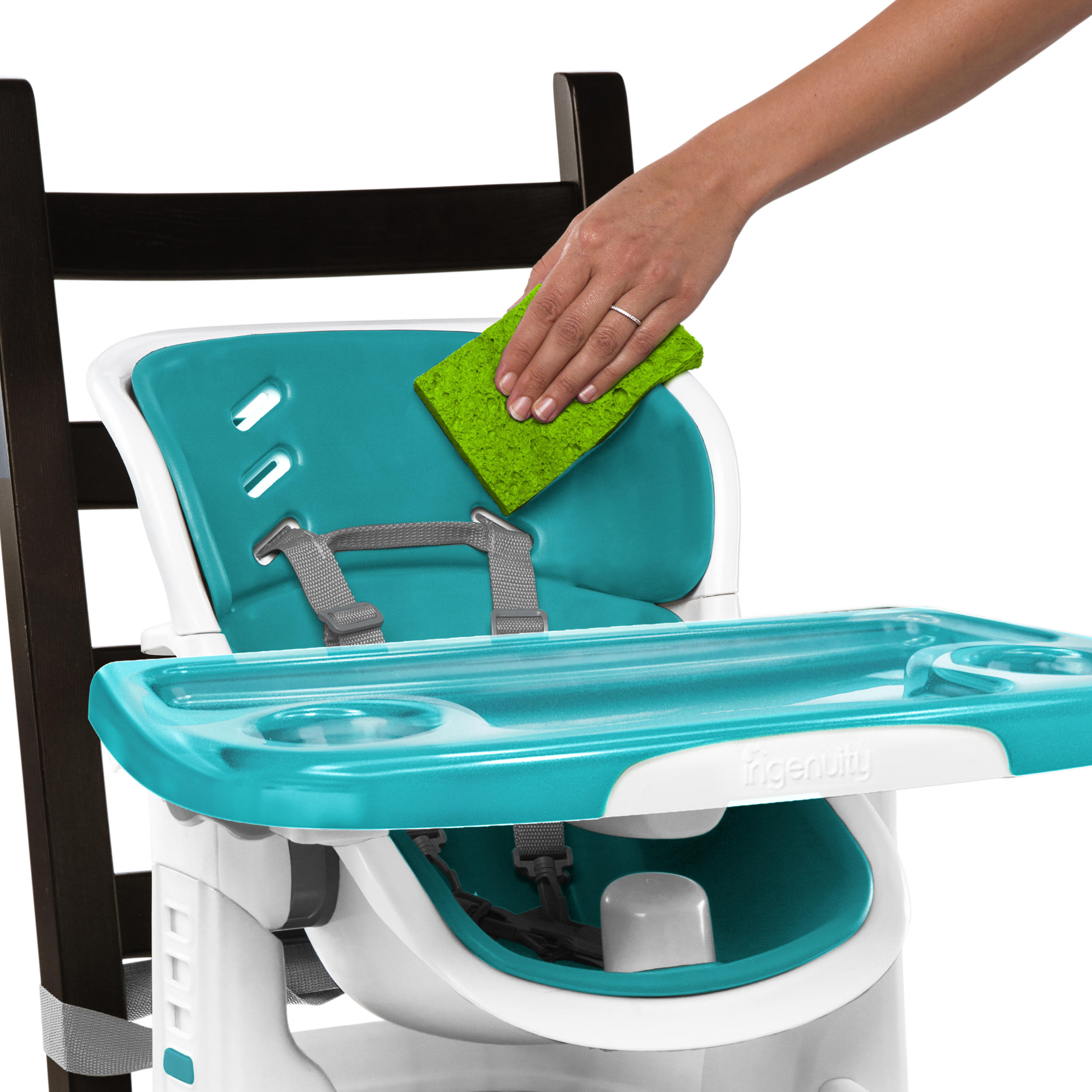 Ingenuity SmartClean ChairMate High Chair Booster Seat ...