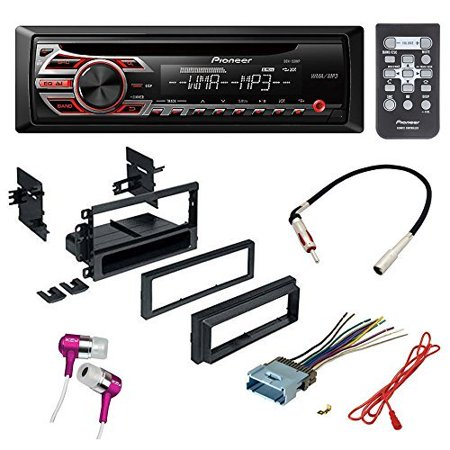 CAR CD STEREO RECEIVER DASH INSTALL MOUNTING KIT + WIRE HARNESS + FOR BUICK CADILLAC CHEVROLET HUMMER ISUZU OLDSMOBILE PONTIAC GMC
