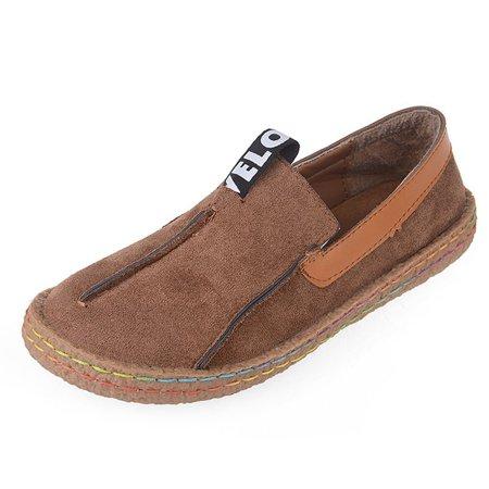 LUXUR Women's Penny Loafer Slip-on Walking Shoes (Best Walking Shoes For Europe In Fall)