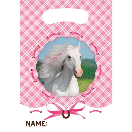 Heart My Horse Party Treat Bags (8 ct) - Horse Party Ideas