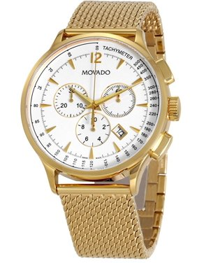 f9cec6c51 Product Image Men's 0607080 'Circa' Chronograph Gold-Tone Stainless Steel  Watch