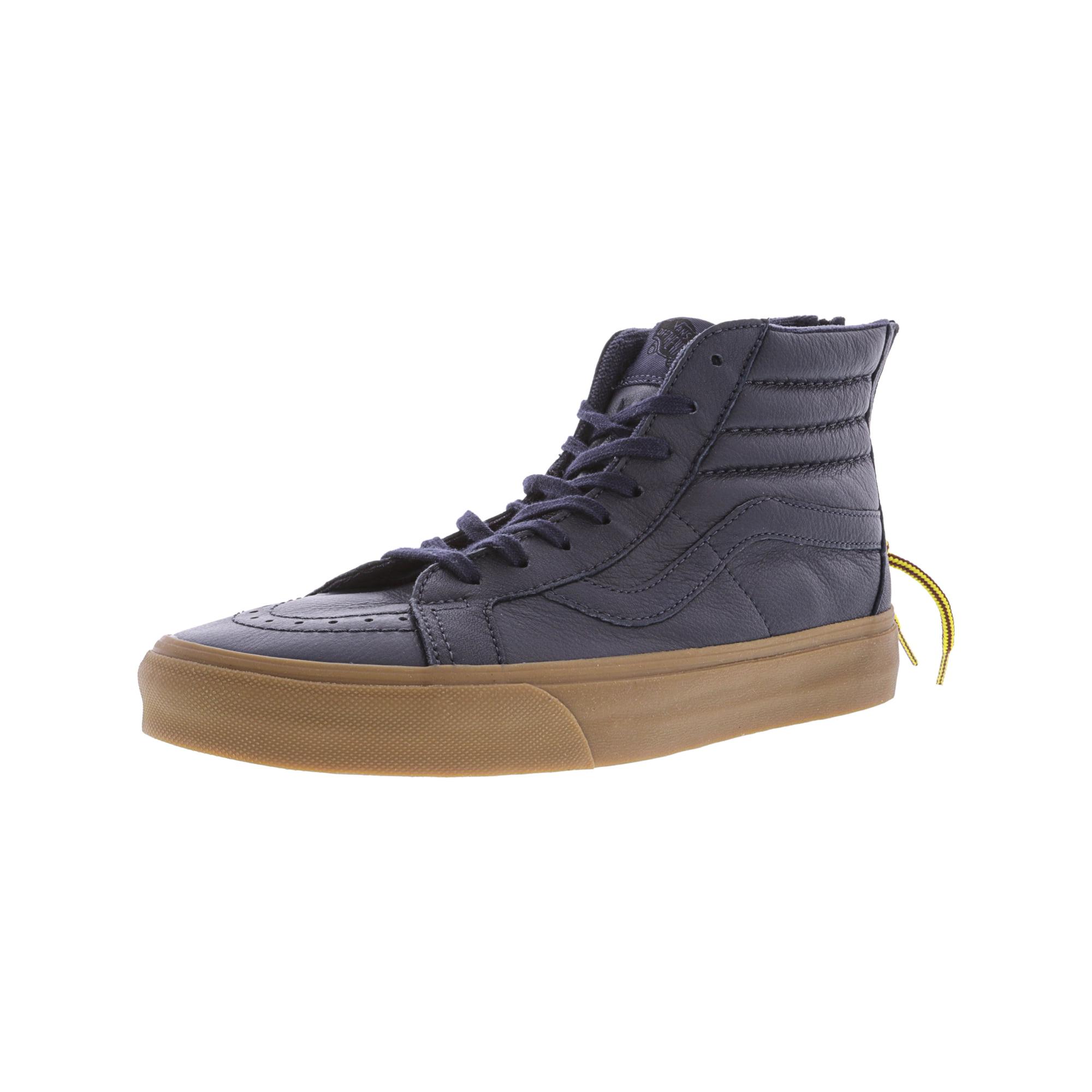 42598440798800 Vans Sk8-Hi Reissue Zip Hiking Navy   Gum Ankle-High Skateboarding Shoe -  9.5M 8M