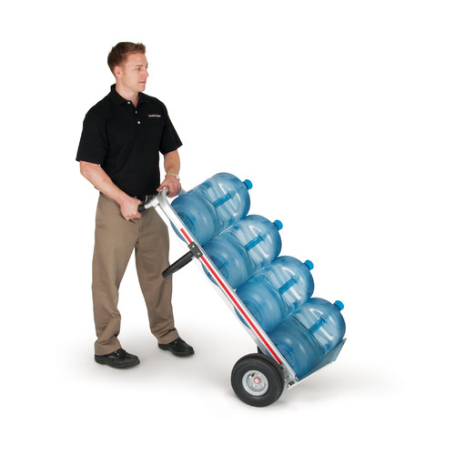Magline, Inc. 500 lb. Capacity Trayless Bottled Water Convertible Hand Truck / Platform Dolly