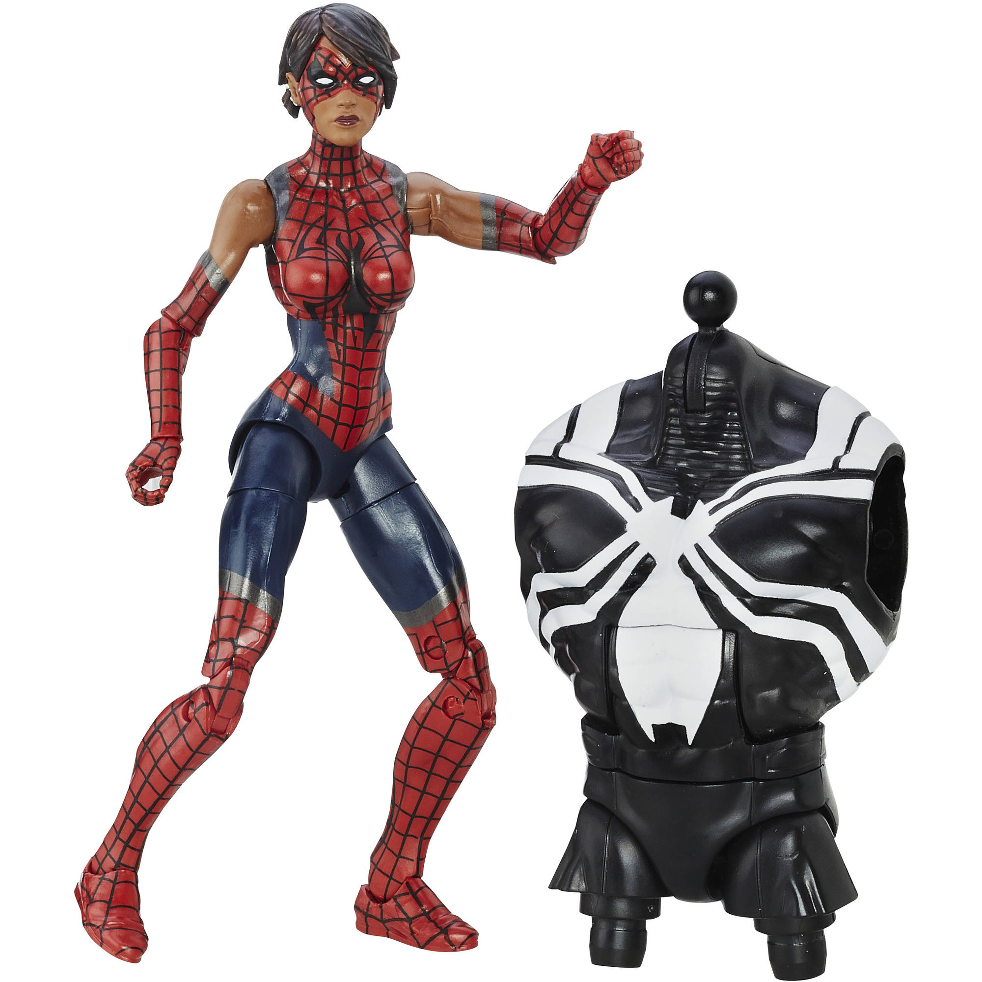 Marvel Spider-Man 6-inch Legends Series Web-Slinging Heroines: Spider-Girl