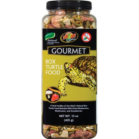 Zoo Med Laboratories Turtle - Zoo Med Laboratories Inc-Gourmet Box Turtle Food 15 Ounce