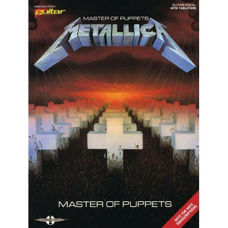 Master Of Puppets Guitar Tab (Hal Leonard Metallica Master of Puppets Guitar Tab Songbook )
