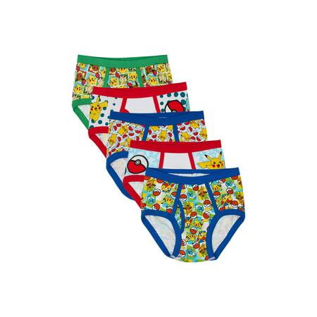 ff3a65efdeb4 Pok mon - Pokemon Boys Underwear, 5 Pack - Walmart.com