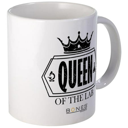 CafePress - Bones Queen Of The Lab Mug - Unique Coffee Mug, Coffee Cup (Coffee Mug Bone)