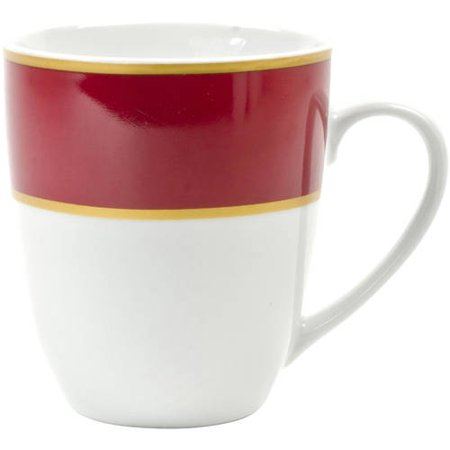 10 Strawberry Street Xena Mug, Set of 4