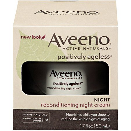 Aveeno Active Naturals Reconditioning Night Cream, 1.7 FL OZ