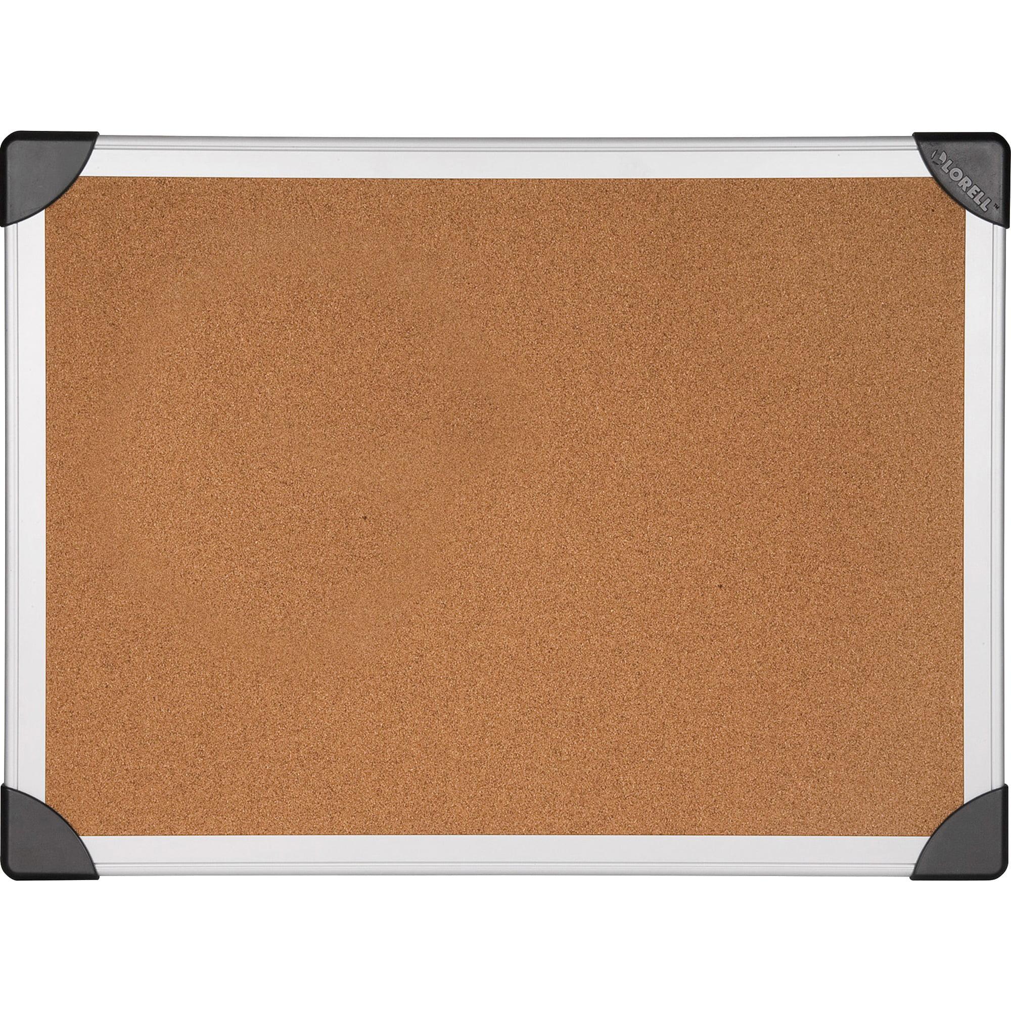 Lorell, LLR19194, Mounting Aluminum Frame Corkboards, 1 Each