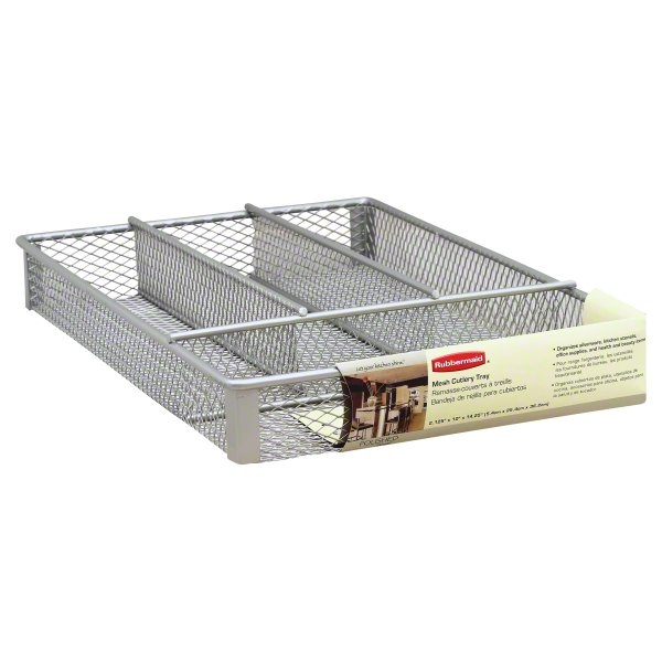 Rubbermaid Polished Elements Mesh Cutlery Tray, 1 tray