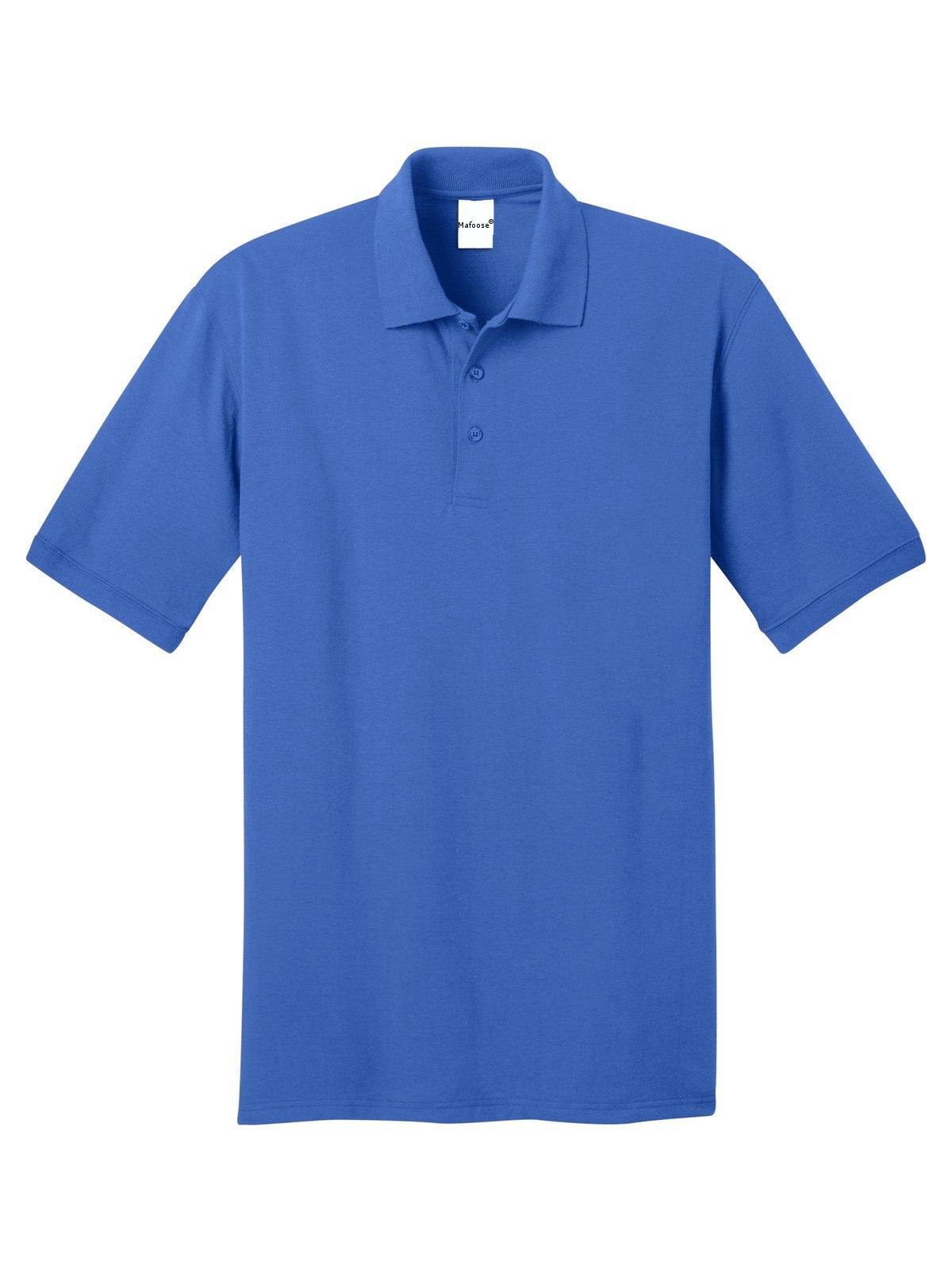 Mafoose Mens Core Blend Jersey Knit Pocket Polo Shirt Ash Xl