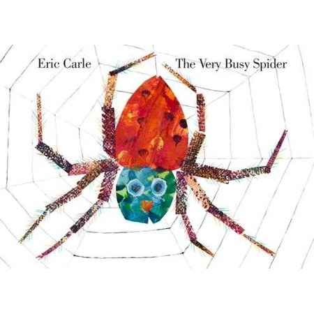 Very Busy Spider (Board Book) Childrens Busy Book