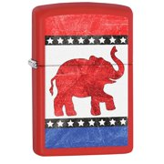 Zippo Republican Elephant Pocket Lighter 29167